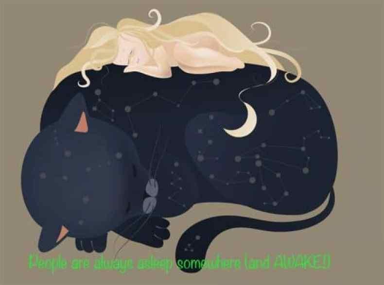 Worldwide Reach A cat and her Blogger Dream