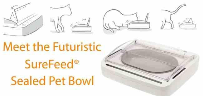 Successful 2016 SureFeed Sealed Pet Feeder