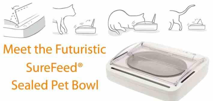 Cat Blog Readers SureFeed Sealed Pet Feeder