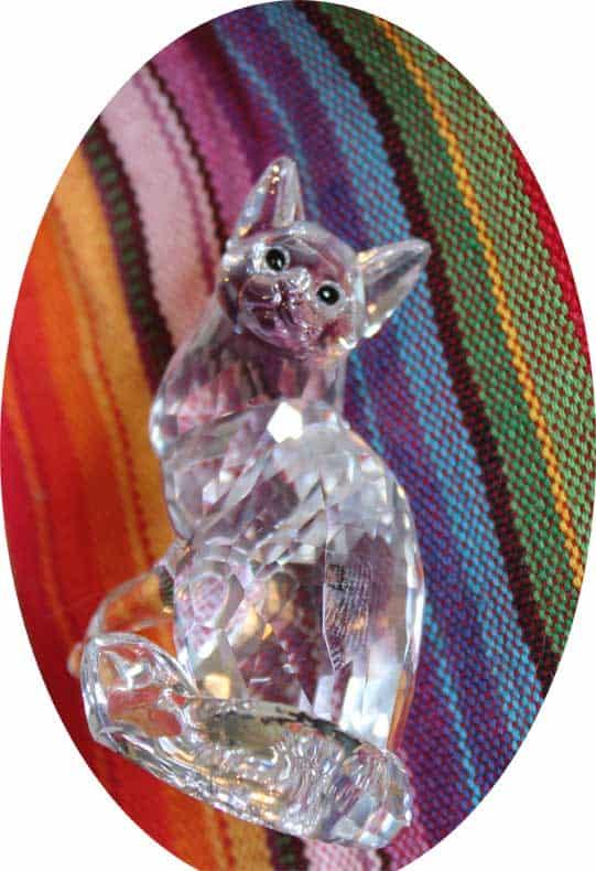 Swarovski Cat Main Coon
