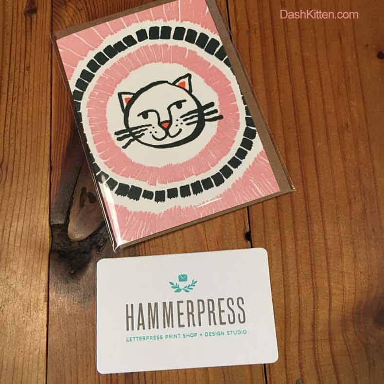 HammerPress card
