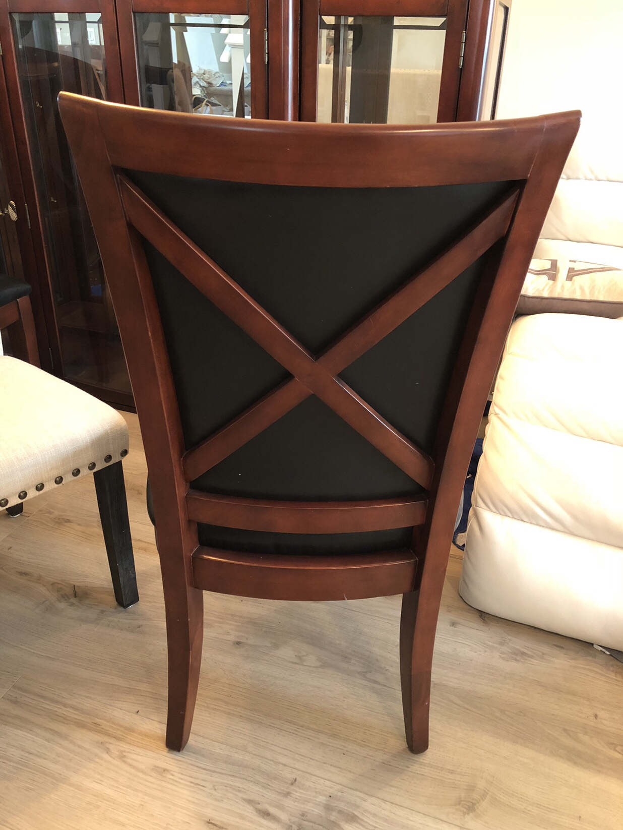 Removable Dining Room Chair Covers - An easy DIY that you must try