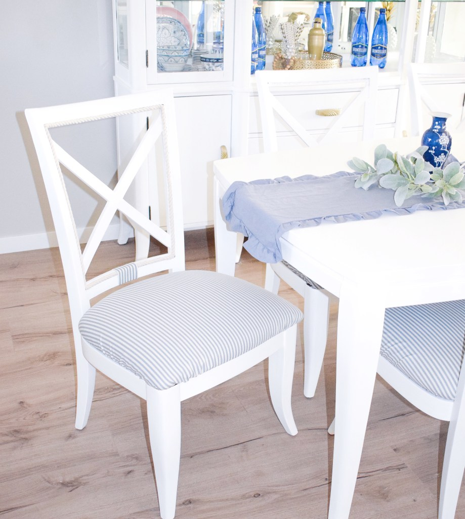 Removable Dining Room Chair Covers – An easy DIY that you must try!!