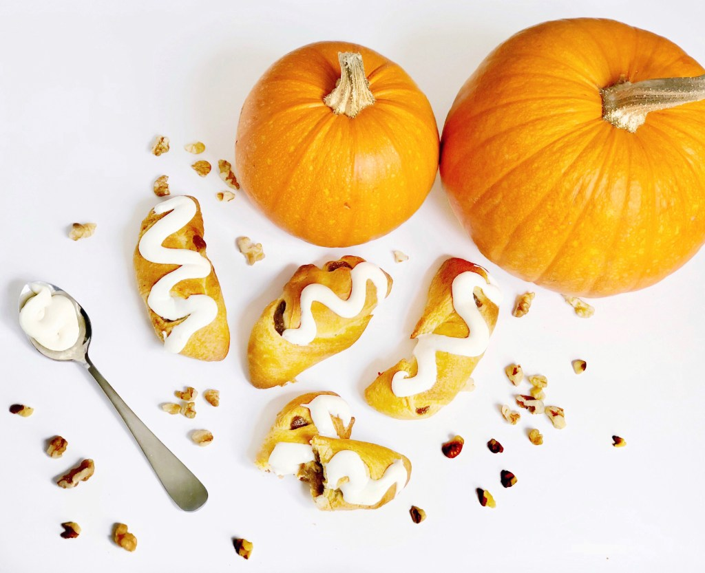 Delicious Pumpkin Filled Crescent Rollups