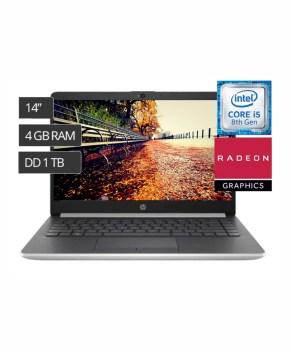 HP Notebook 14-ck1038nia Intel® Core™ i5, 4GB Ram, 1TB HDD, 2GB Radeon Graphics, Windows 10 home.