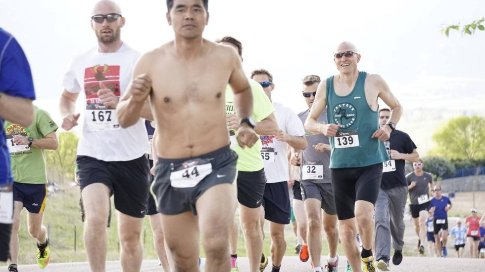 Dash & Dine 5k is held in the spring at the Boulder Reservoir