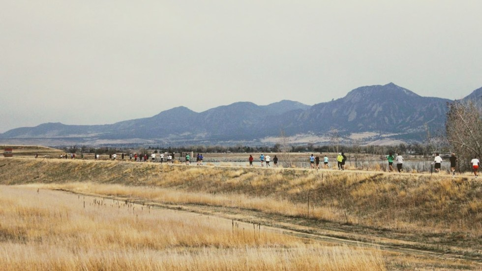 5k race in Boulder, CO