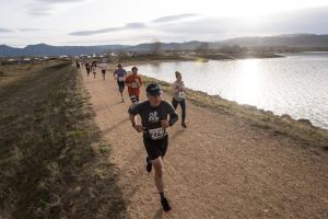 Runners enjoy the Dash & Dine evenings at the Boulder Reservoir