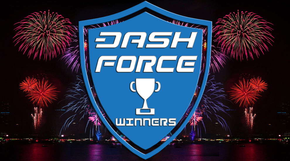 Dash Force Meetup Contest Winners: April