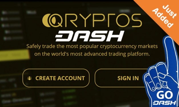 Dash Added to Qryptos Crypto-Only Exchange With Temporary Negative Fees