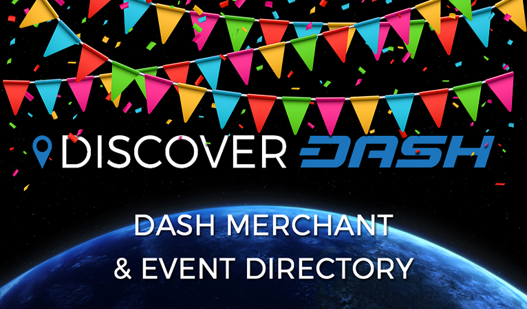 Over 500 Dash-Accepting Merchants Listed on DiscoverDash