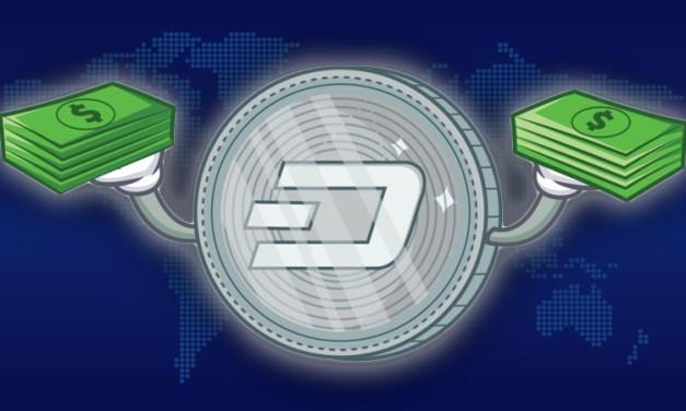 Dash добавлен на BACE, CoinSwitch, Styx24