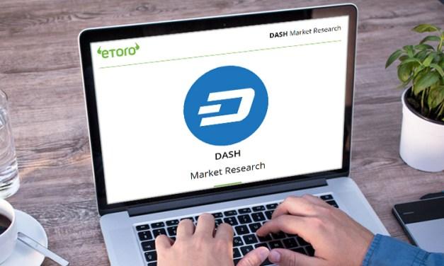 """eToro Marktanalyse: Dash ist """"unterbewertet"""", im Vergleich zu anderen Coins"""