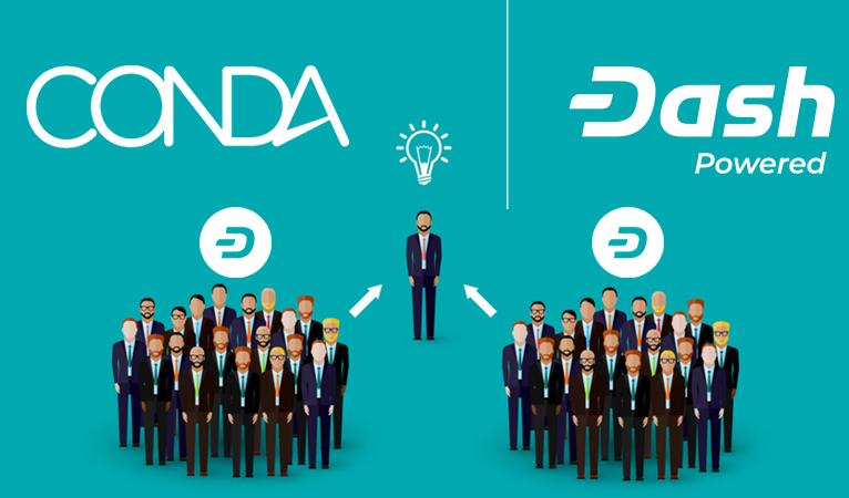 Dash Embassy D-A-CH überzeugt österreichische Crowdfunding Plattform CONDA Dash zu integrieren