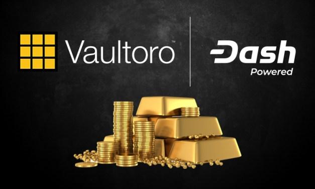 Vaultoro, a Gold Trading Platform, Integrates Dash