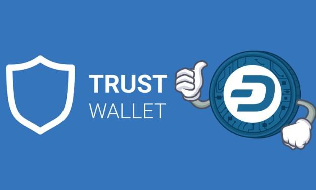 Die zu Binance gehörende App Trust Wallet integriert Dash und erlaubt Nutzern einen einfacheren Einstieg