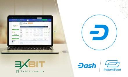 Бразильская биржа 3xbit добавляет Dash