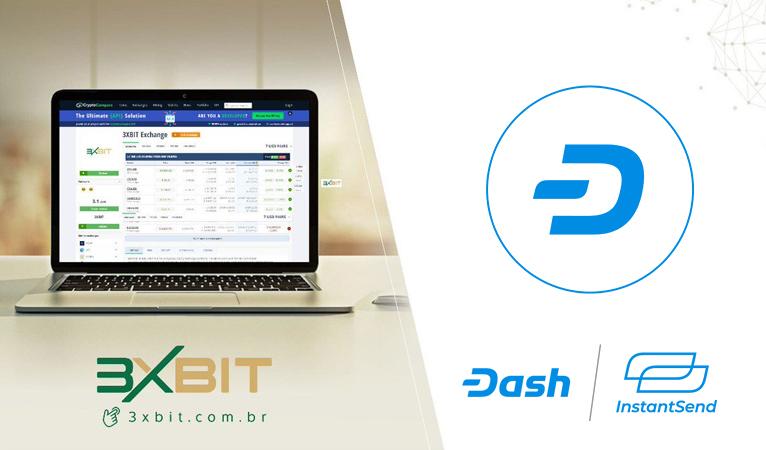 Die brasilianische Börse 3xbit integriert Dash InstantSend