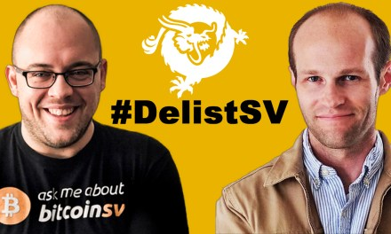 Ryan X. Charles and Kurt Wuckert Jr. on #DelistSV Bitcoin SV Delisiting and Implications
