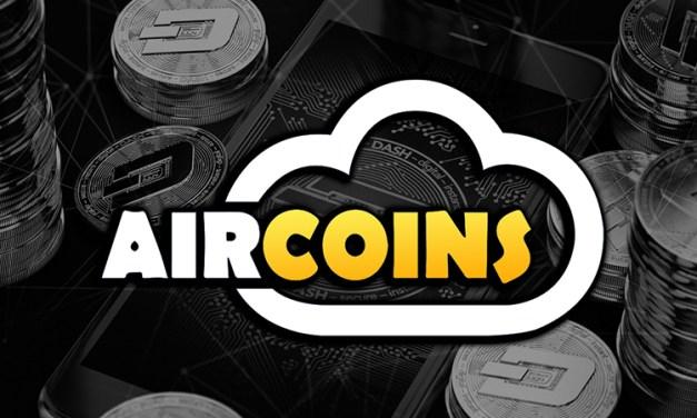 Dash und AR-App Aircoins starten eine weltweite Schatzsuche