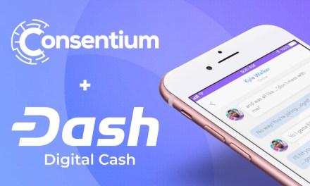 Dash Thailand arbeitet mit der Wallet, Chat und Community App Consentium zusammen