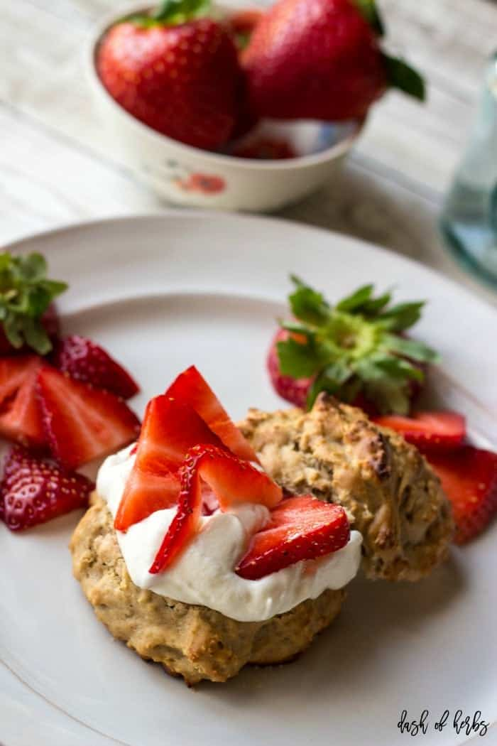 Strawberry Lemon Shortcakes Recipe from Dash of Herbs - Plan a great meal for Easter