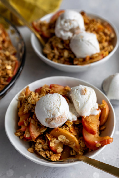 Healthier Apple Crisp | Dash Of Mandi
