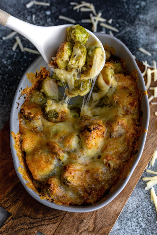 Brussel Sprout Gratin