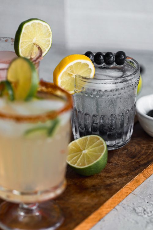 Vodka Blueberry Lemonade Splash