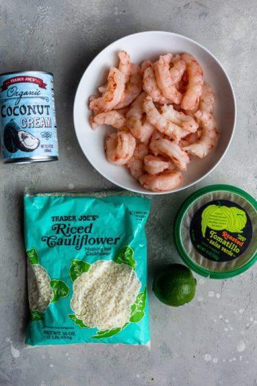 Salsa Verde Shrimp - Dash Of Mandi