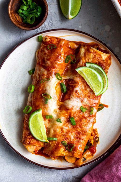 Shrimp Street Corn Enchiladas | Dash Of Mandi