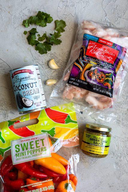 Trader Joe's Thai style shrimp ingredients