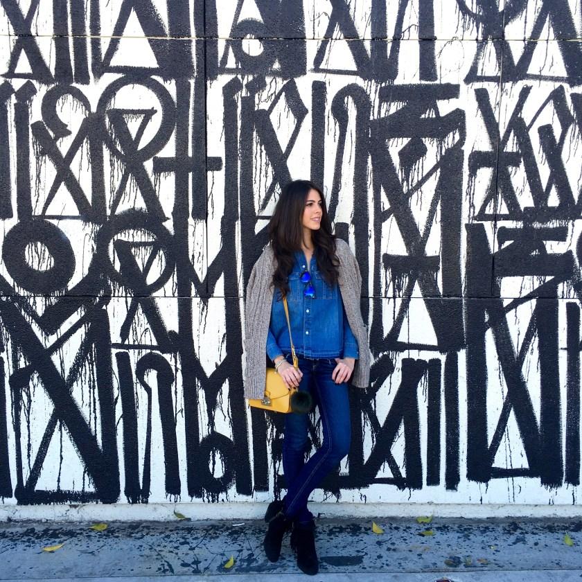 LA Style - Madewell - Denim on denim