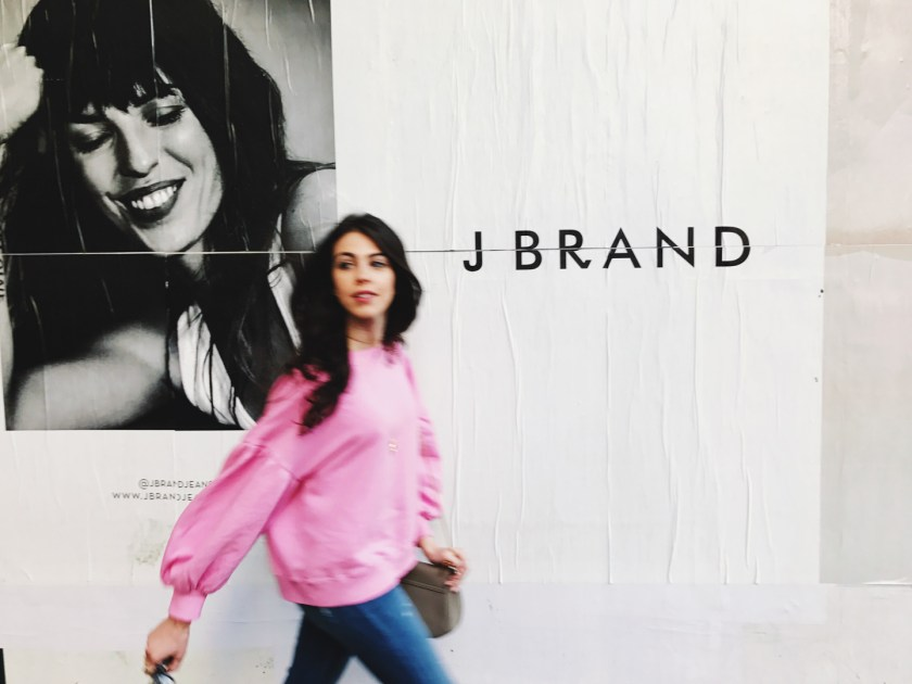 Jackie Roque in NYC J Brand