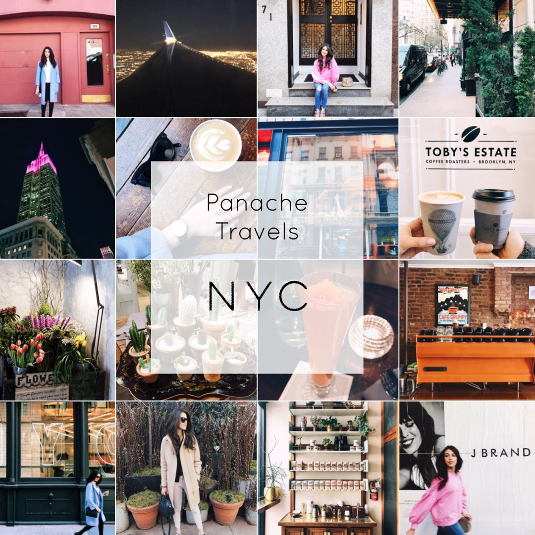 Jackie's guide to NYC for a weekend.