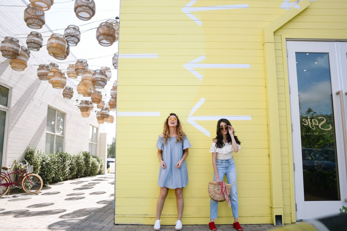 Summer style in Malibu with Jessica Sheppard and Jackie Roque.