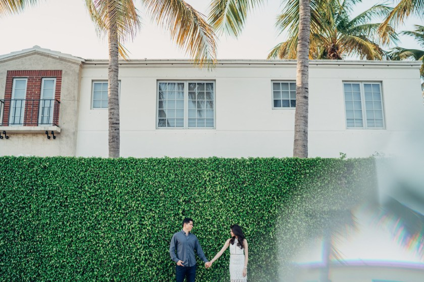Jackie Roque one Luke Salas are engaged in Miami.