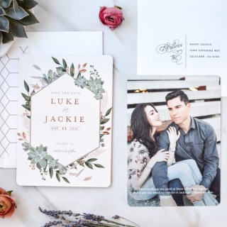 Saving The Date with Minted