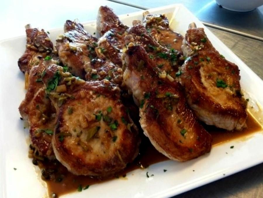 Pork Chops in Mustard Sauce