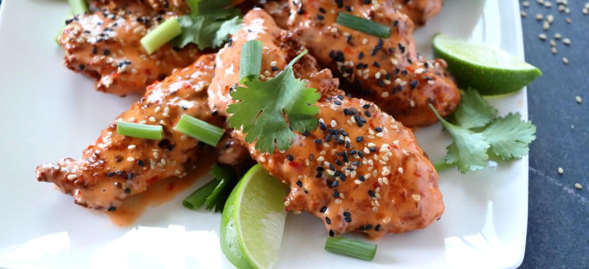 Ginger Sriracha Chicken