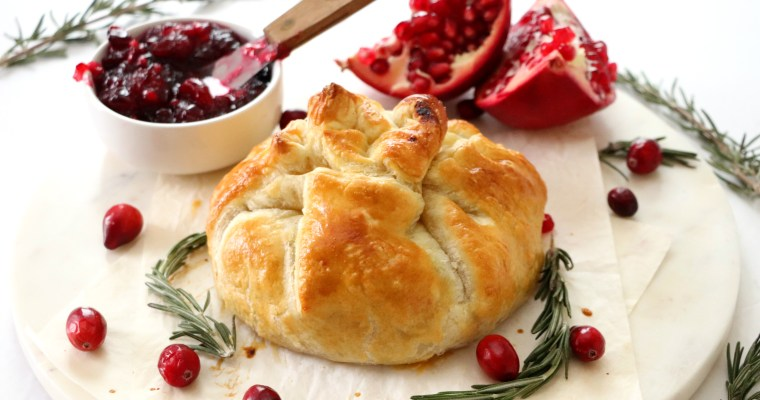 Sweet and Savory Baked Brie