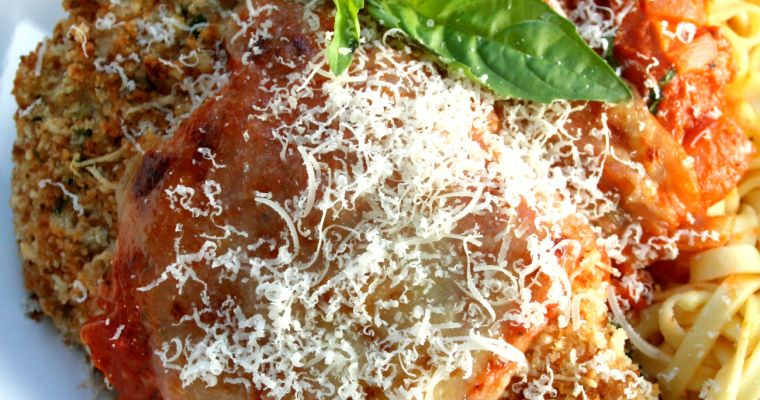 Healthy Baked Italian Chicken