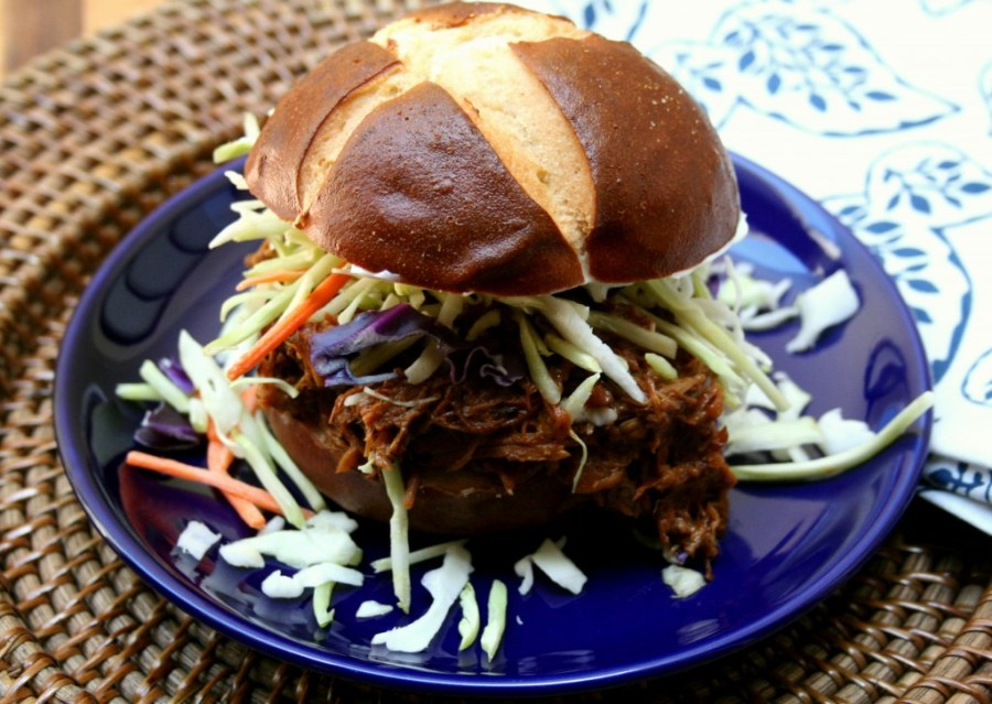 Sweet and Spicy Pulled Pork