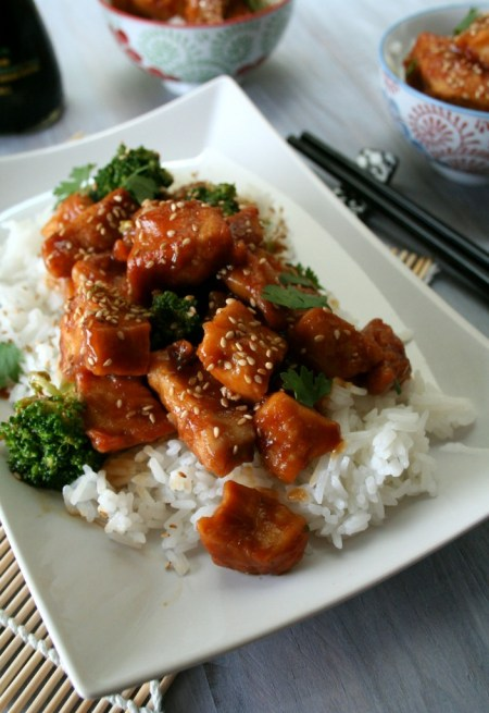 Ginger Soy Chicken and Broccoli