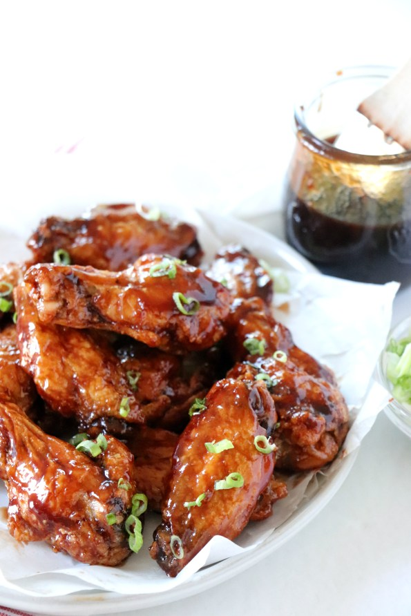 Balsamic BBQ Chicken Wings