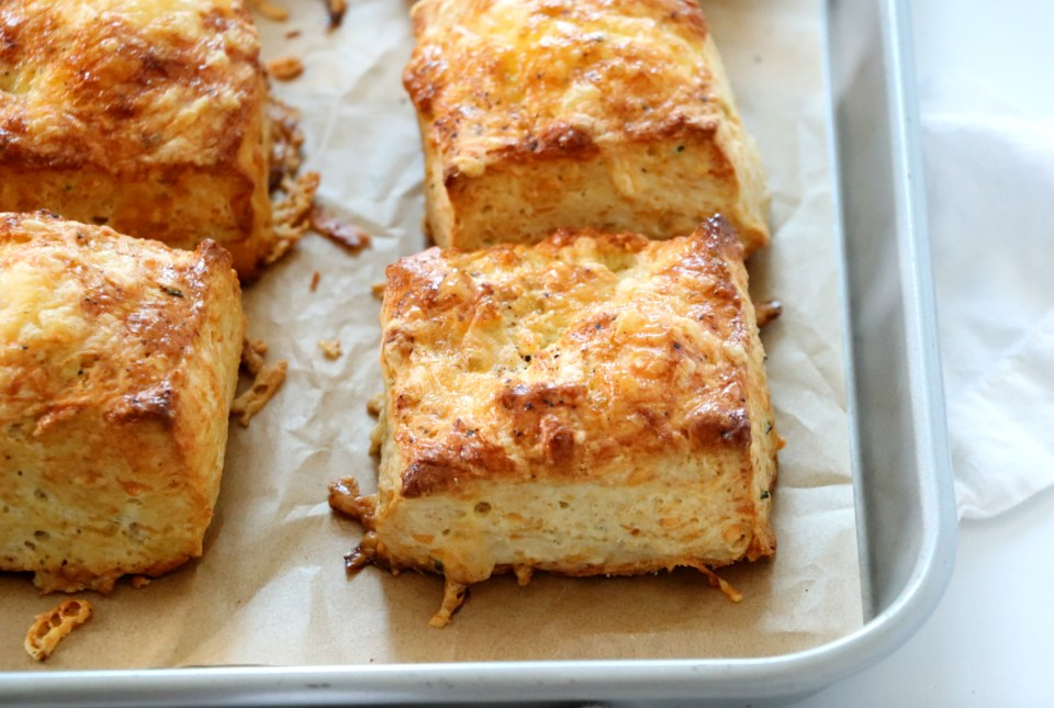 Smoked Gouda Biscuits