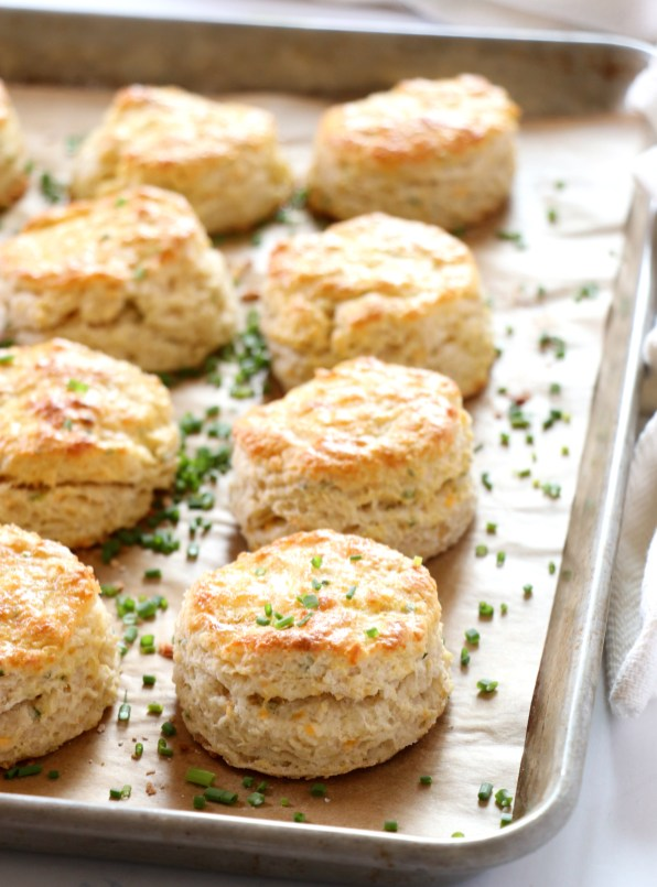 Chive Cheddar Biscuits