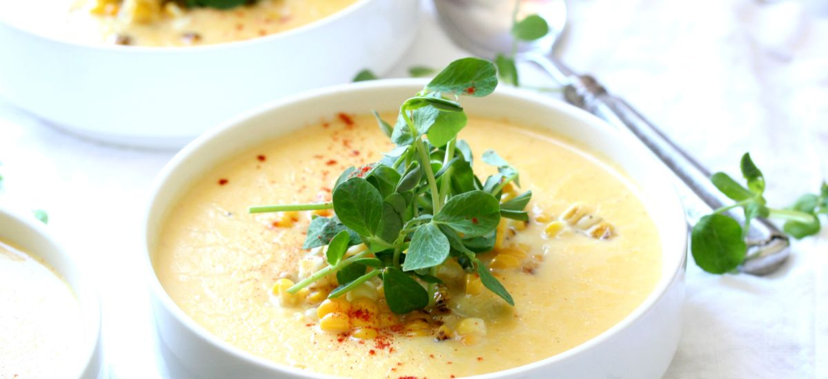 Creamy Sweet Corn Soup