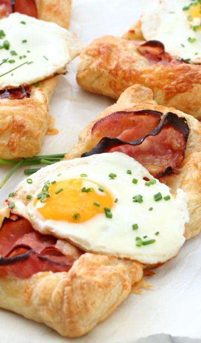 Puff Pastry Croque Madame