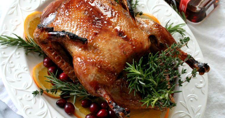 Maple Glazed Roast Duck
